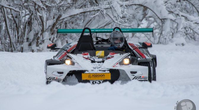 X-Bow Schnee-fahren
